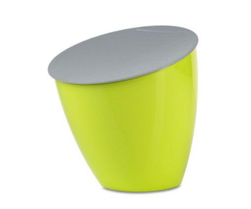 Abfallbehälter Calypso Lime Abfall Eimer Grün Abfalleimer Müll Biomüll  Kompost
