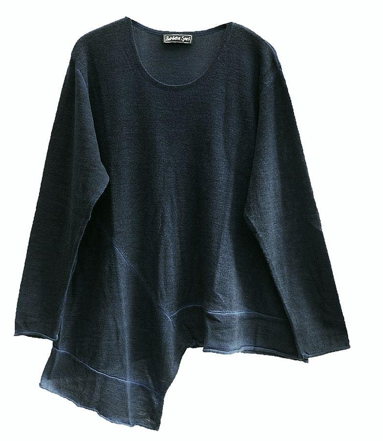 barbara speer pullover merinowolle reduziert lagenlook mode modeolymp. Black Bedroom Furniture Sets. Home Design Ideas