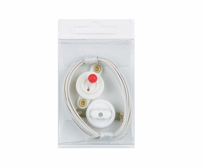 bastelsortiment beleuchtung 4tlg schalter stecker steckdose kabel puppenhaus beleuchtung. Black Bedroom Furniture Sets. Home Design Ideas