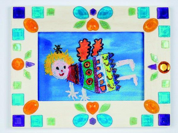 Bilderrahmen Holz Natur Unbehandelt Basteln ~ Bilderrahmen aus Holz ca 12 x 12 cm bei kindergeschenke  lafeo de