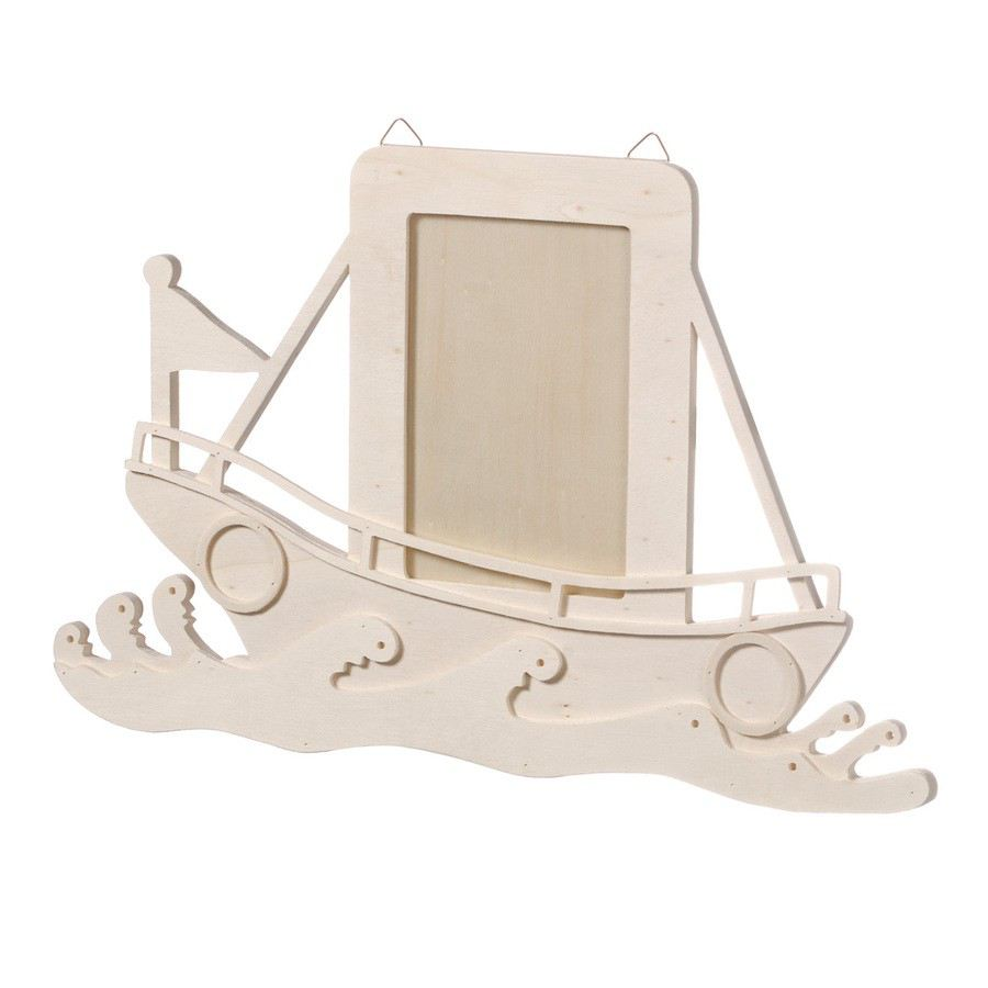 fsc holzbilderrahmen natur 40 x 1 x 25 cm holzkleinteile haus garten gegenst nde kartenpower. Black Bedroom Furniture Sets. Home Design Ideas