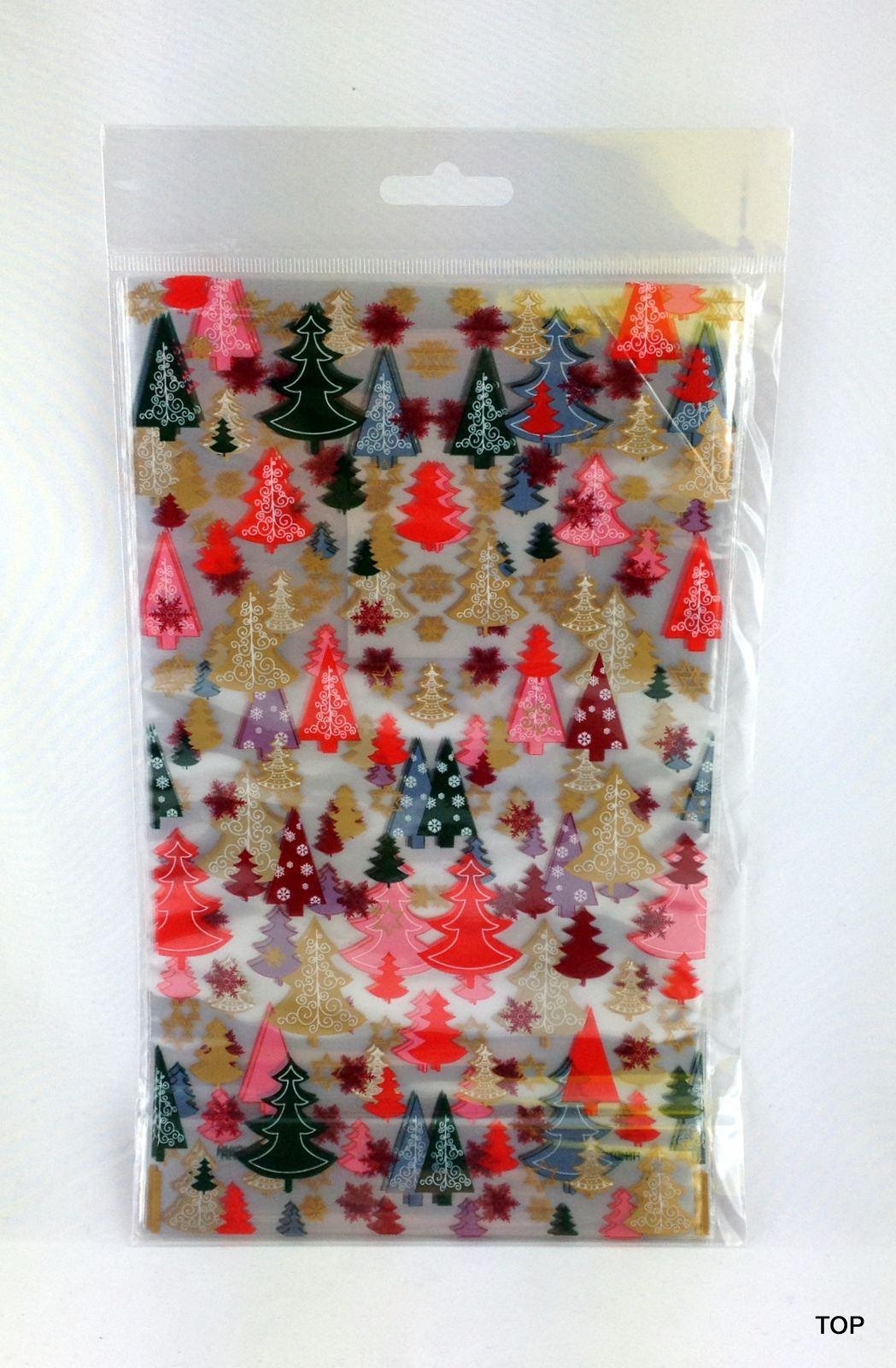 sterne beutel mit boden 8er pack weihnachtsmotive 14 5x23 5 cm weihnachten folie beutel. Black Bedroom Furniture Sets. Home Design Ideas