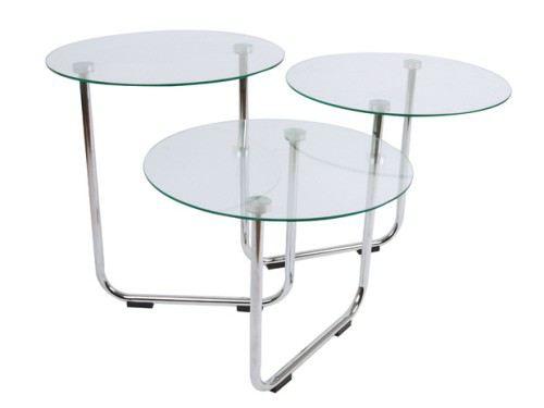 Couchtisch 3 In 1 Beistelltisch Couch Tisch Glastisch Glas Wohnzimmertisch