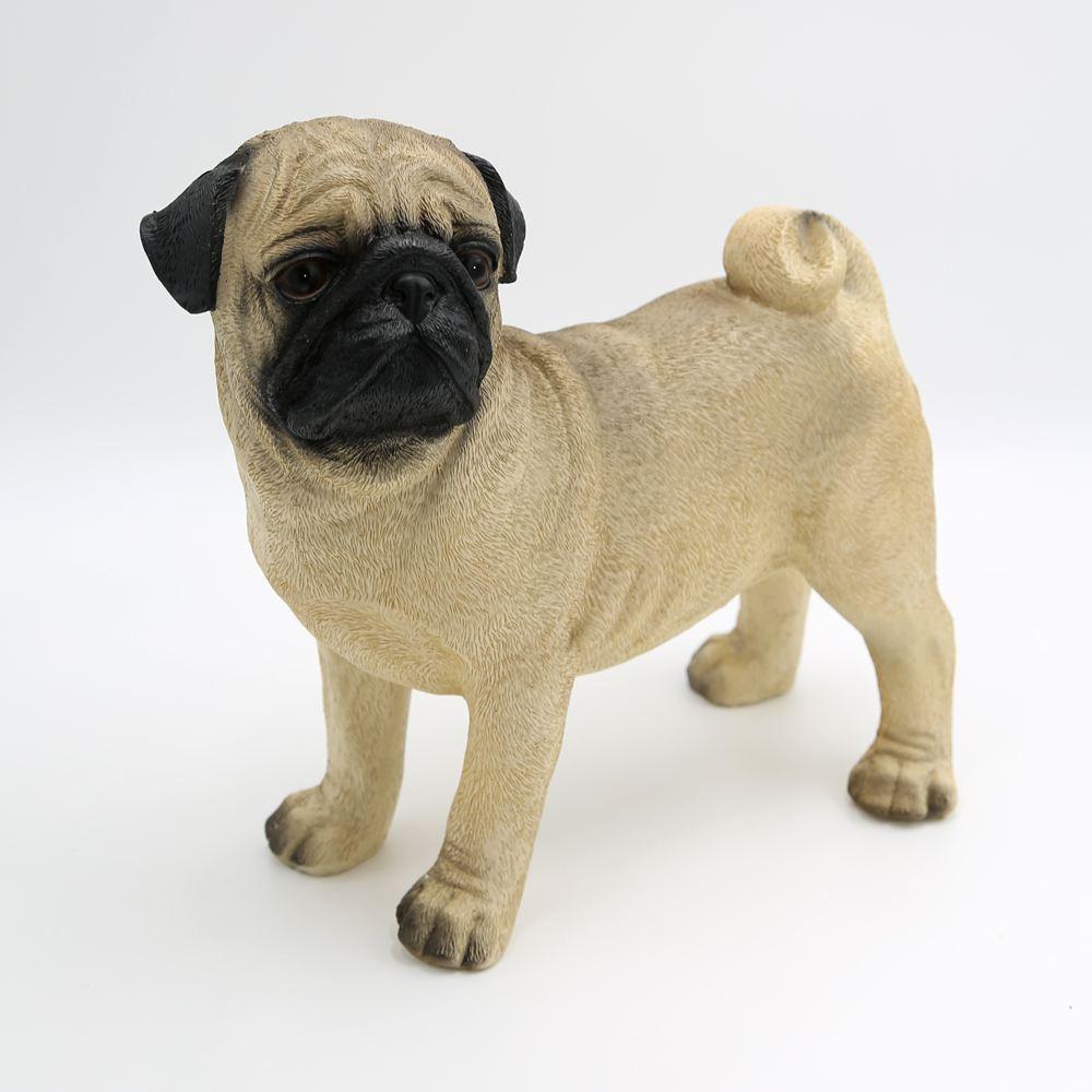 geschenkideen hundefiguren mops tierfigur dekoration dekoartikel hundefigur gartenfigur. Black Bedroom Furniture Sets. Home Design Ideas