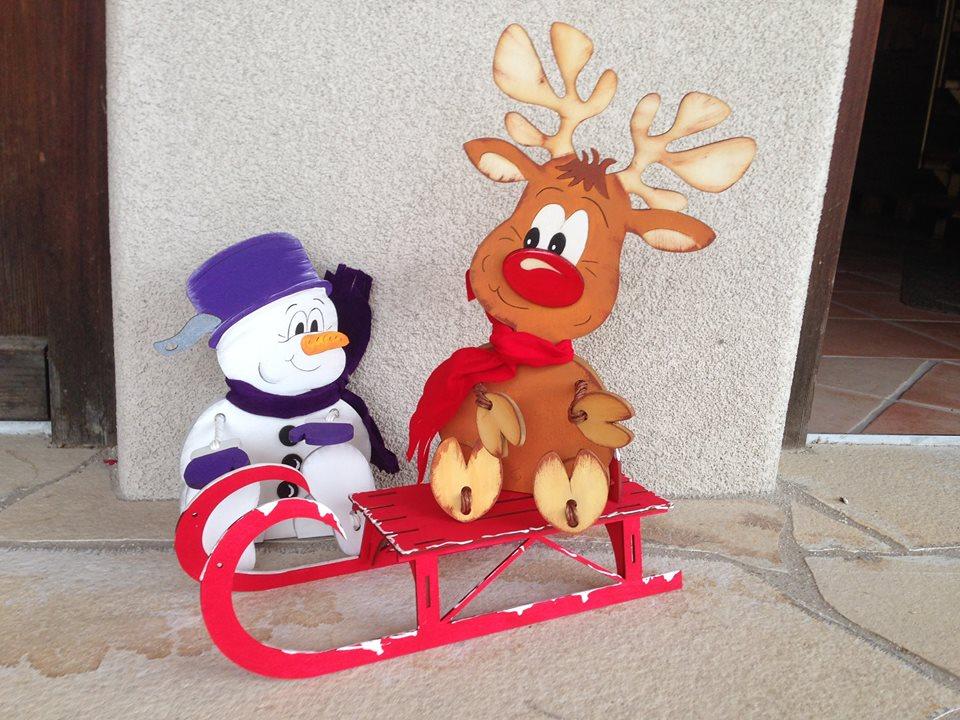 Weihnachten & WEIHNACHTSMANN  bastelnmitholzlafeocom