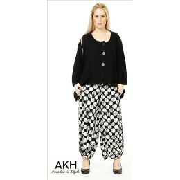 Lagenlook Hose Punkte AKH Fashion