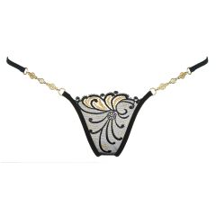 Lucky Cheeks Luxus String Golden Diamond