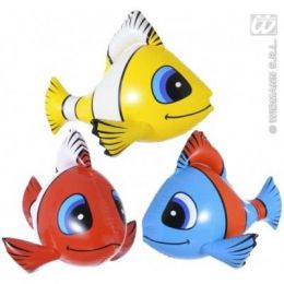 Fisch aufblasbar Hawaii Deko Sommer Strand Party 60 cm
