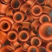 Eyelets Rund, 4+8 mm orange