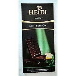 Heidi Schokolade Dark Mint & Lemon 80g