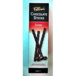 Fellini Chocolate Sticks Dark 125g