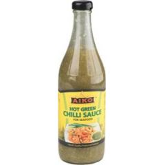 Aiko Hot Green Chili Sauce 730 ml