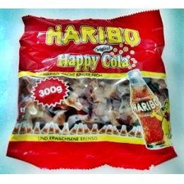 Haribo Happy Cola 300g