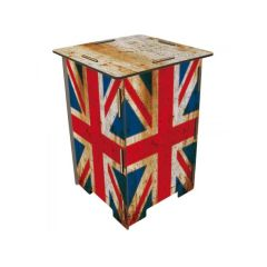 Photohocker Union Jack Fotohocker Hocker Beistelltisch Tisch England UK London