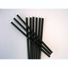 Zauberstab - schwarz/weiß - Hexenstab ca. 42 cm
