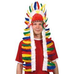 Indianer - Kopfschmuck - Häuptling ca. 50 x 88 cm - für Kinder