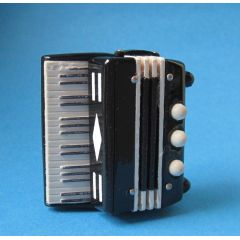 Puppenhaus Akkordeon Musikinstrument Miniaturen 1:12