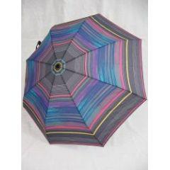 Esprit Regenschirm Taschenschirm stripes