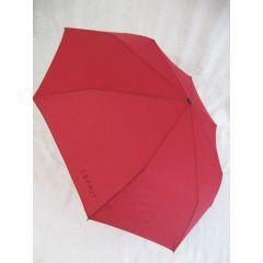 Esprit Mini Regenschirm Taschenschirm rot