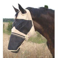 Waldhausen Fliegenmaske Premium ohne Ohren, mit Nüsternschutz