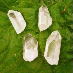 Bergkristall-Spitzen, 4 Stück