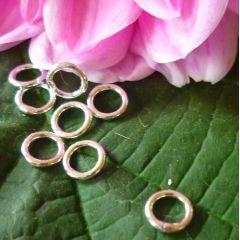 Binderinge 6 mm, Silber 925