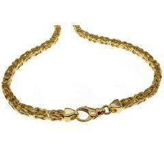 70 cm Königskette - 585 Gelbgold - 7 mm