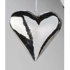 formano Deko-Hänger Herz aus Edelstahl, 10 cm