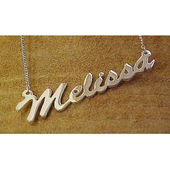 Namenskette - IHR Wunschname bis 9 Buchstaben 925 Silber