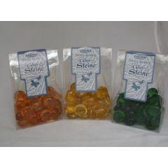 Glas-Dekosteine verschiedene Farben