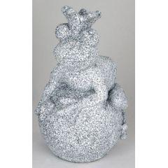 formano Dekofigur Frosch auf Kugel, steinfarben, 28 cm