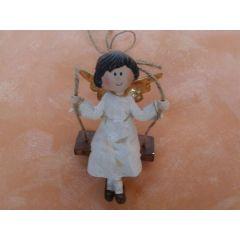 Engel auf einer Schaukel 10 cm