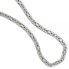 Königskette 925 Sterling Silber rhodiniert 60 cm - 7,2 mm