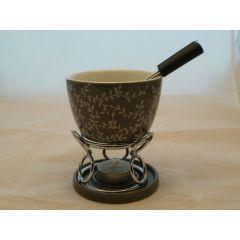 Fondue Set Metall Keramik I