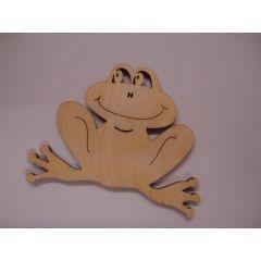 Holz Kleinteile gelasert Frosch und Zubehör