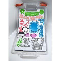 Ablagebox Schablone + 6200/0071