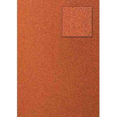 Glitterkarton, orange rot