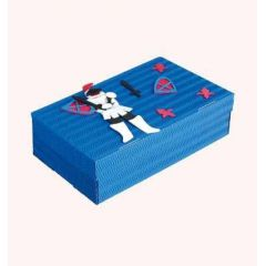 Schul- & Kreativbox Ritter 35x22,5x10cm