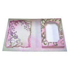 Verpackungs-Schablone Teelichtbox ca. 11 x 15 x 2cm