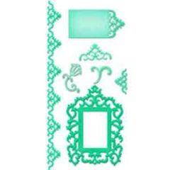 Spellbinders Shapeabilities S5-083 Antiquel Frame and Accents