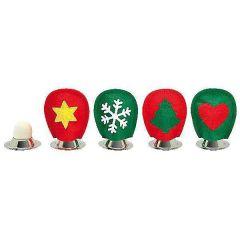 Filz Eierwärmer Weihnachten 6er Set