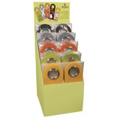 Filz Tür-Hänger verschiedene Farben 26,5x9,5cm
