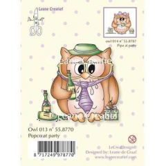 Stempel Eule Owl, Popco at Party