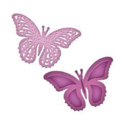 Spellbinders Die D-Lite S2-073 Schmetterlinge