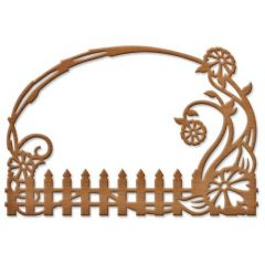 Spellbinders® Shapeabilities® Die D-Lites? - S2-111 Floral Fence