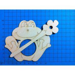 Schalhalter Frosch 7 cm und 10 cm