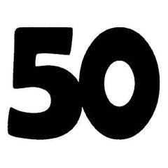 Zahl 50
