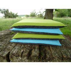 Sitzkissen aus Filz, Größe 35 x 35 cm