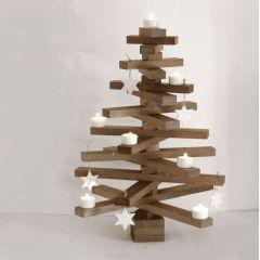 bauMsatz - Weihnachtsbaum aus Eiche