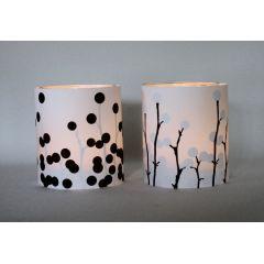 Lichthüllen für Teelichter- Licht und Schatten